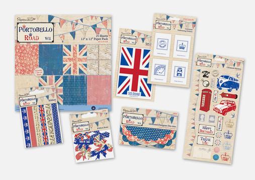 Portobello Paper Craft Set