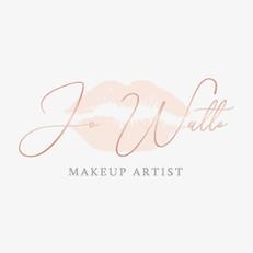 Jo Watts Makeup Artist Logo Design