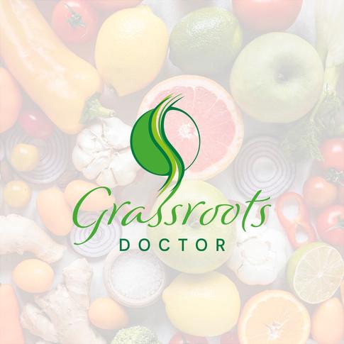 Grassroots Doctor Brand Identity designed by Jellicoe Creative www.jellicoecreative.co.uk