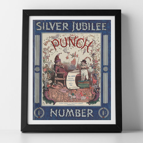 Punch Silver Jubilee Cover Print, May 1935