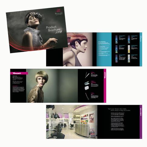 Wella Professionals Product Brochure designed by Jellicoe Creative www.jellicoecreative.co.uk