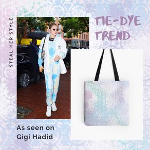 + Get in on this seasons tie-dye trend like Gigi Hadid +