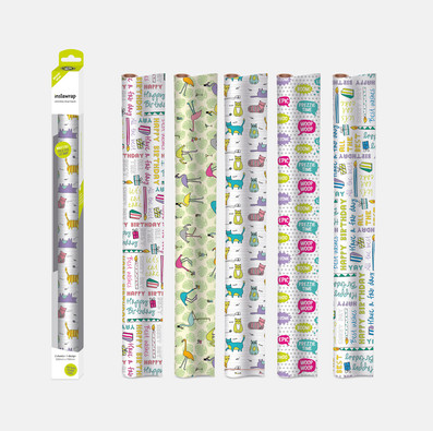 Instawrap Packaging & Wrapping Paper Designs