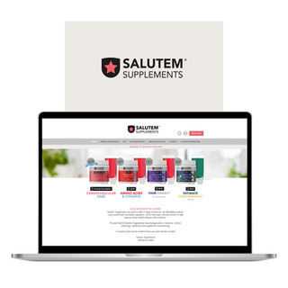 Salutem Supplements E-commerce Website Design