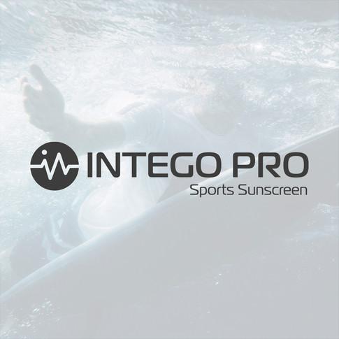 IntgeoPro Sport Sunscreen Branding designed by Jellicoe Creative www.jellicoecreative.co.uk