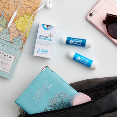 Emotion Enhance Travel Inhaler Logo, Branding, Packaging & Marketing Materials