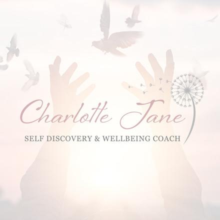 Charlotte Jane Wellbeing Coach Brand Identity designed by Jellicoe Creative www.jellicoecreative.co.uk