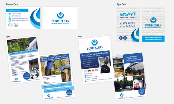 Pure & Clean Marketing Materials