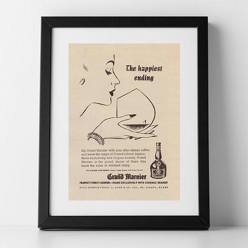 Grand Marnier Advert, 1955