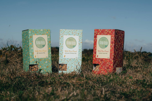 Dorset Bird Feed Seasonal Packaging