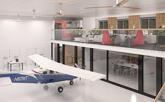 Our New Hangar