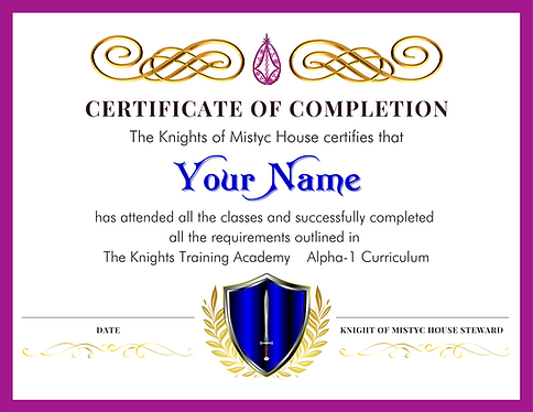 knights-training-academy-certificate-fir