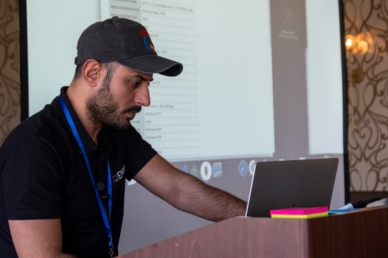 Software Engineer Ihab Alazzawi led a workshop on Grievance Management with EMMA, which showed-off some little-used EMMA features while helping attendees figure out how to best automate grievance processing in their local.