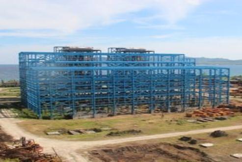 PLTU AMBON (coal fired steam power plant)