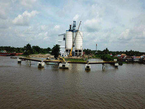 Indocement terminal Palembang - Indocement
