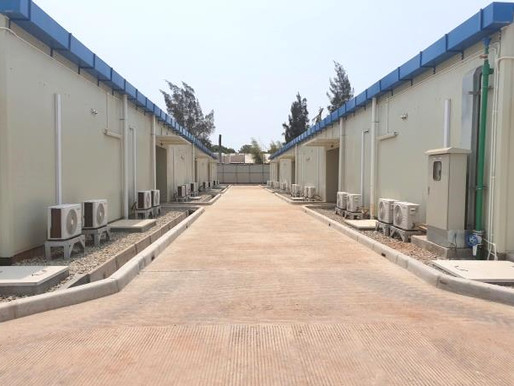 Samsung E & C - Temporary Camp Facility Construction