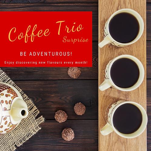 Coffee Trio Surprise