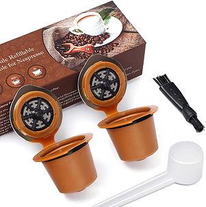 Refillable Reusable Coffee Capsule for Nespresso