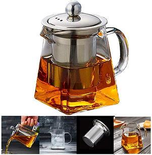 PluieSoleil Glass Teapot