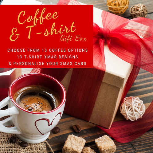 Coffee & T-shirt Gift Box (Pre-Order Only)
