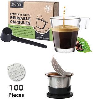 SEALPOD Reusable Nespresso Capsule