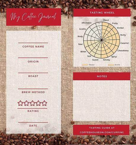 Coffee tasting jornal