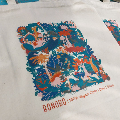 Bonobo Cotton Tote Bag