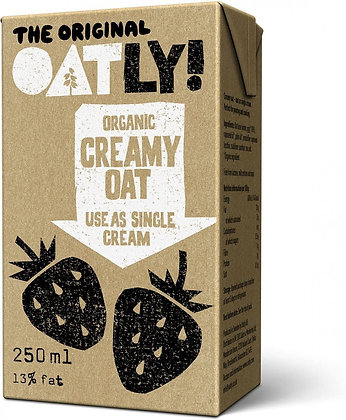 Oatly Organic Creamy Oat - 250ml