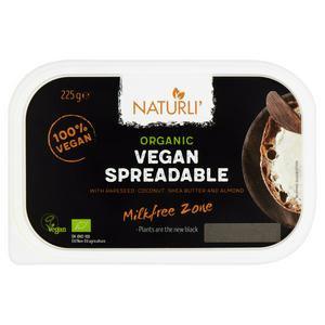 Naturli Organic Vegan Spreadable Butter - 225g