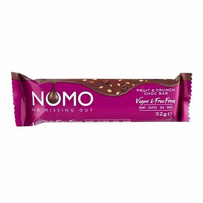 NOMO Fruit & Crunch Chocolate Bar - 32g