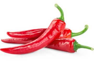 Large Red Chilis (Mild) 200g