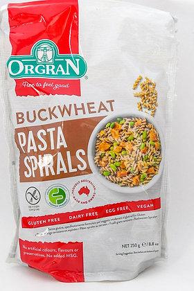 Buckwheat Pasta Spirals 250g Gluten Free