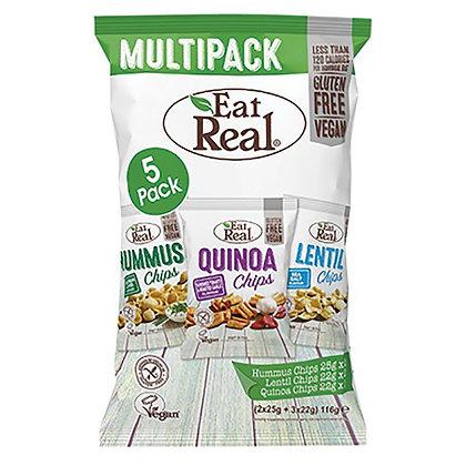 Eat Real Hummus, Lentil & Quinoa Multipack - 5 pack