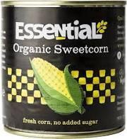 Organic Sweetcorn - 340g - Essential Trading