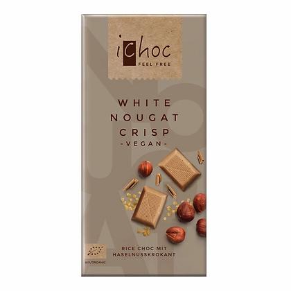 iChoc White Nougat Crisp - 80g