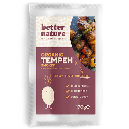 Smoked Tempeh Block - 170g