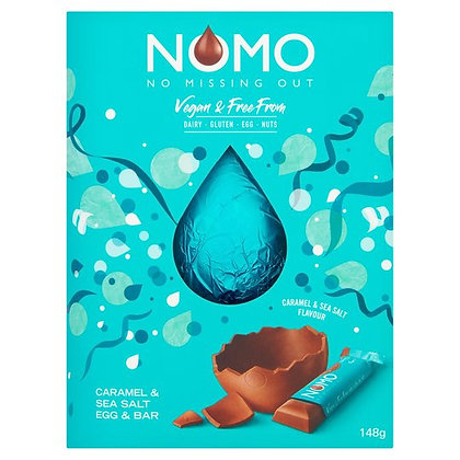 Nomo Caramel & Sea Salt Chocolate Easter Egg 148G