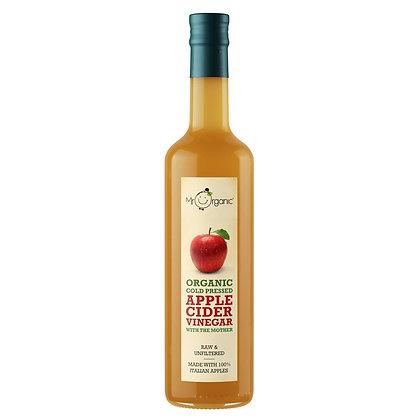 Organic Cold Pressed Apple Cider Vinegar with Mother 500g