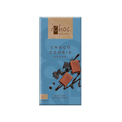 I-Choc Choco-Cookie Rice Chocolate - 80g