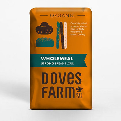 Organic Strong Wholemeal Bread Flour - 1.5kg