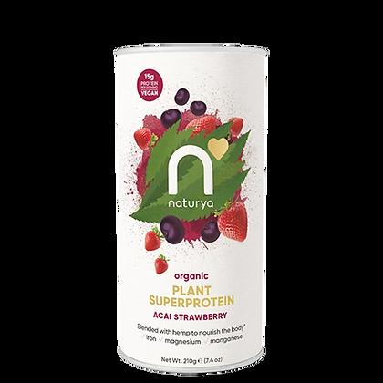 Naturya Plant Superprotein Acai Strawberry 210g