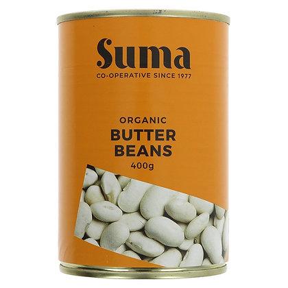 Butter Beans, 400g - Suma