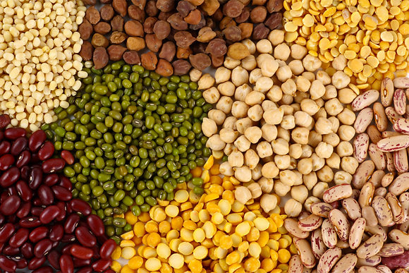 Dried Pulses & Beans - 500g - No plastic