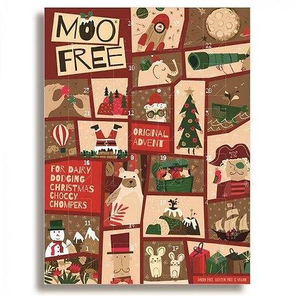Moo Free Milk Chocolate Advent Calendar 70g
