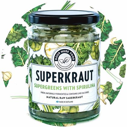 Superkraut Supergreens with Sprirulina 500ml