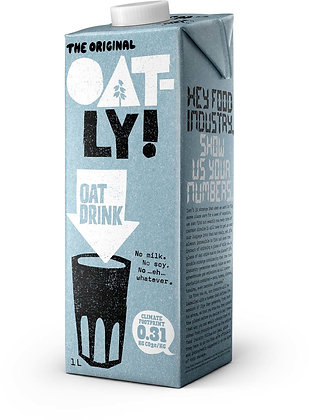 Oatly Drink with added calcium