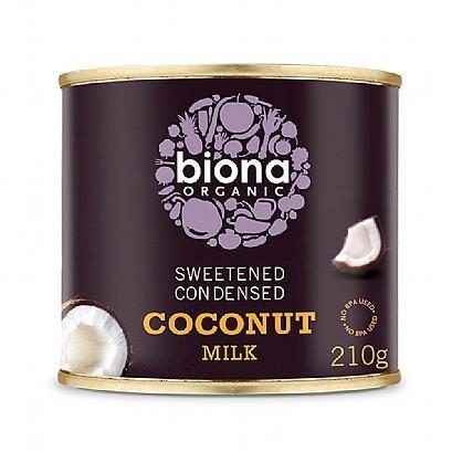 Biona Organic Sweetened Condensed Coconut Milk - 210g