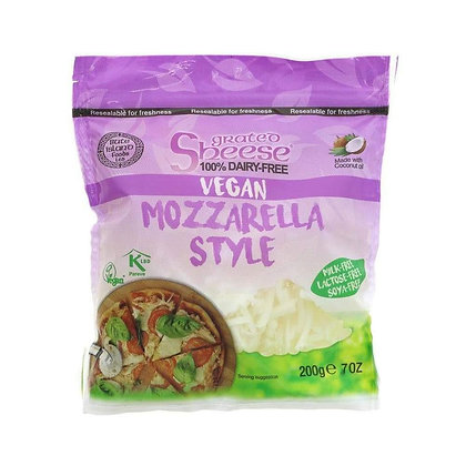 Mozzarella Style Grated Sheese 200g