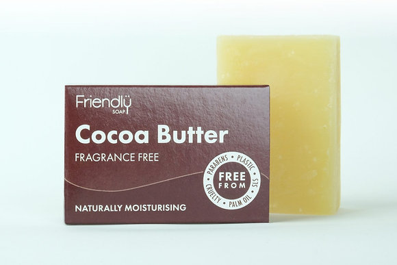 Friendly Soap Cocoa Butter Cleansing Bar 95g