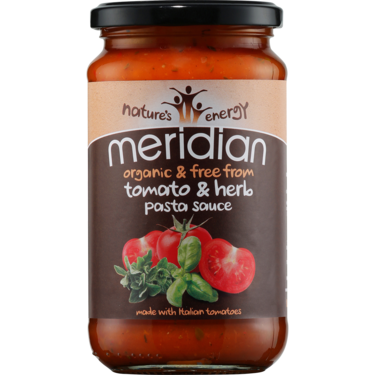 Tomato and Basil Pasta Sauce - Meridian - 440g